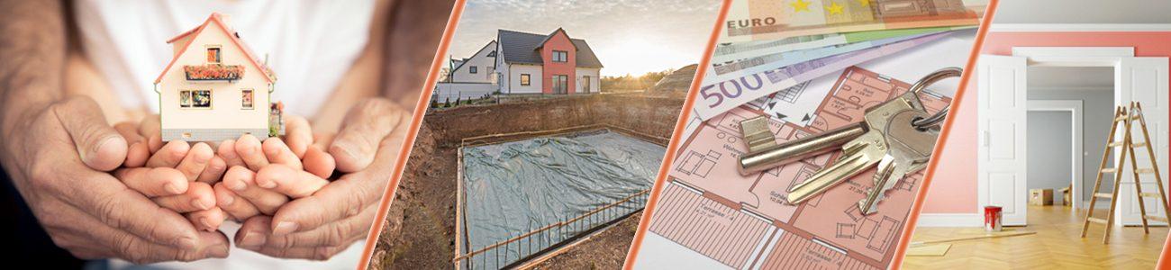 Immobilien + Grundstücke