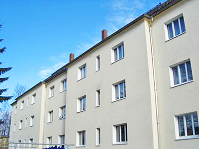 Wohnblock in Chemnitz